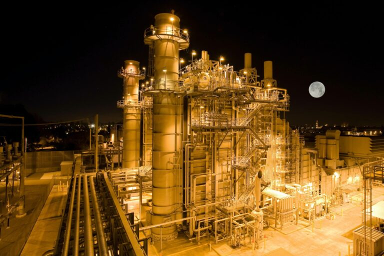 An image depicting a fuel refinery for TriStone Holdings' comparison of fuels.